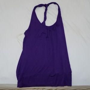 purple forever 21 halter top